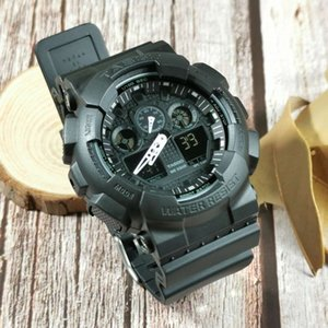 Герен Horlog Gshock Mode Sport Militaire Quartz Digitale Shcok Stijl Stopwatch Horlog Klok Mannen Horloge Relogio Masculino