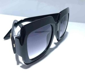 Women Sunglasses 0053 Popular Summer classic Style Square Full Frame Top Quality Solid color fashion sunglasses UV Prote