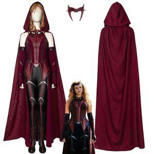 Wanda Vision Scarlet الساحرة حلي تأثيري البدلة واندا ماكسيموف