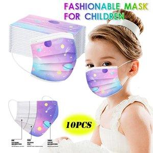 10pc Star Masque Enfant Children Mask Disposable Facemask Mascherine Halloween Cosplay for Face Mascaras