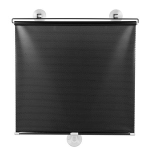 Blinds Free-Perforated Balcony Suction Cup Sunshade Blackout Curtain Temporary Portable Drape For Door Window