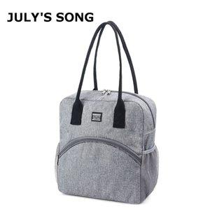 LUGLINO'S SONG BAG CONTACANO BAG BAG CAZIONE PICNIC PICCOLATO PICCOLATO TERMICO ALIMENTARE PRANZO Pranzo Borsa di raffreddamento Addensare Borsa per il pranzo impermeabile 210309