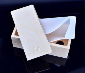 Nicole B0266 Forro de silicone para tamanho pequeno Molde de madeira retângulo molde com caixa de madeira Redemoinho Formas Loaf Moldes de sabão ZHL0262
