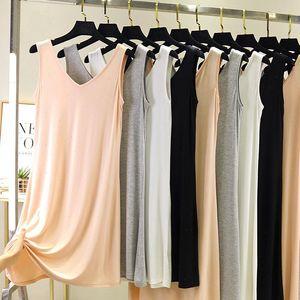 Abiti da donna Full Slips Sfull Petticoat Donna Dress Slip Slip Underdress Tolding Straight Femme Intimates