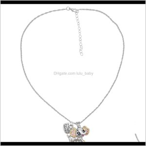 Cute Style With Heart Ladybug Owl Elephant Charms Pendant Statement For Women Boho Party Jewelry Sfl1F Beaded I4Mej