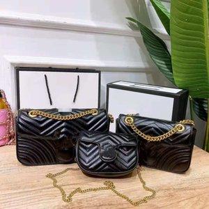 Designer Girls wave quilted handbags Luxury kids metal letter single shoulder bags women PU leather messenger bag A7816