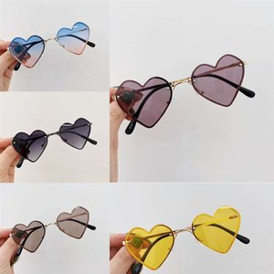 DWQS5 Sunglasses Children Man Sunglasses Love Candy New Outdoor Sports Bicycle Glasses Glass Read Woman Cycling Summer Mirrors 2021 Qqrla