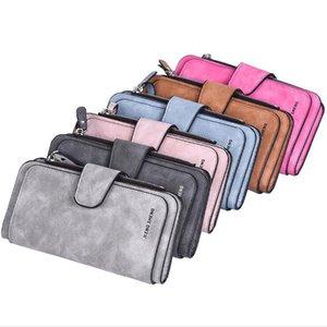 Women Leather Wallet Design Hasp Card Holder Long Female Purse 6 Colors Ladies Clutch bag
