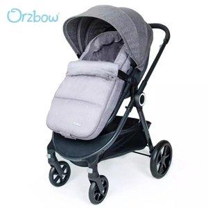 Orzbow baby poussette sac de couchage hiver chaude été nés enveloppes enfants skrooms footpsacks coupe-vent skroof sacs sacs gris