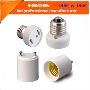 GU24 to E27 E26 E27 to GU24 Lamp Holder Converter Base Bulb Socket Adapter Fireproof Material Bayonet Base Bulb Adapter Socket Converter