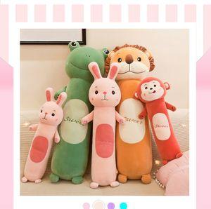 Fabricantes e macio longo Dormir bonecos cilíndricos criativos criativos brinquedo pelúcia brinquedos crianças presentes