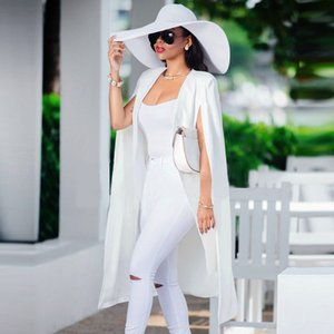Women Casua Long Sleeveless Duster Vest Open Front Cardigan Blazer Blouse Jacket Coat Top Black White Size (S-XXL)