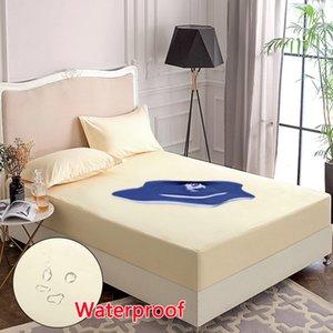 Waterproof cotton mattress sheath protective cover dustproof anti mite hypoallergenic