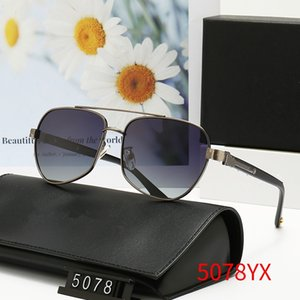 Eyeglass Frame summer men Brand Polarized Sunglasses 5078 driving Sun glasses Lady big frames beach uv400 eyewear dazzling shades original box wx11