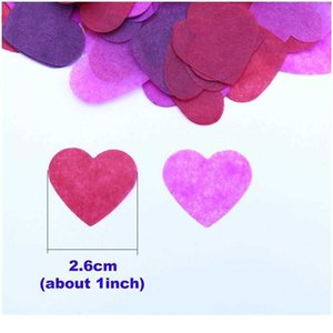 Paper Products 10g Per Bag 1 Inch Tissue Heart Confetti Filling Balloons Baby Shower Wedding Birthday Party Table Dec jllOYY 6D47