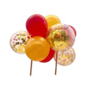 5 بوصة بالون كعكة توبر سعيد عيد حزب ديكور هدية الزفاف الهواء globos ballon عيد الميلاد أطفال BA M4Z7 الديكور