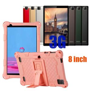3G tablet phone pc Octa Core 8 inch MTK6592 IPS capacitive touch screen dual sim android 5.1 1GB 16GB with leather case