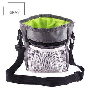 Multi-function Dog Pet Training Bag Portable Pets Outdoor Treat Sack Food Holder Adjustable Waist Belt Garbage Bags Folding Kit GWE9587