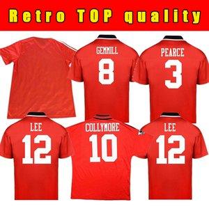 Top 1979 80 Nottingham Fussball Trikots Wälder Retro Football Club Home Hemden 1980 McGovern Star Robertson Burns Lloyd Größe S-XXL