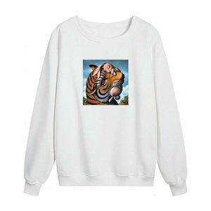 Hombres Mujeres Sudadera 2020 New Fashion Mens Womens Otoño Invierno París Sudaderas 20ss Tigre de alta calidad Pullover Pullover Coat