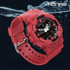 Wristwatch Luxury Waterproof Sport Watch Casual Fashion Shokproof Ladies Luminous Display 50M Electronic Clock Watches 21ss