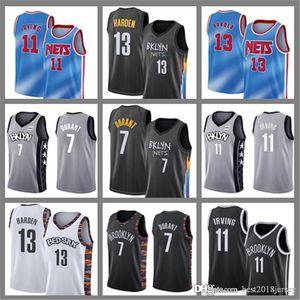 13 Harden Basketball Jersey Cheap Kevin 7 Durant 11 Irving Mens Kyrie New City BrooklynRedesJames 13 Harden Jerseys