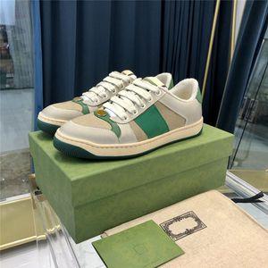 2021 Kadın ve Erkekler Sneaker Moda Lüks Tasarımcılar Rahat Ayakkabılar Kadın Için Daha Renk Platformu Eğitmenler Yürüyüş Sneakers ile Kutusu Boyutu 35-45