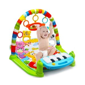 Baby Carpet Play Mat Music Puzzle With Piano Keyboard Eonal Rack Toys Infant Fitness Crawling Gift For Kids Gym 210924