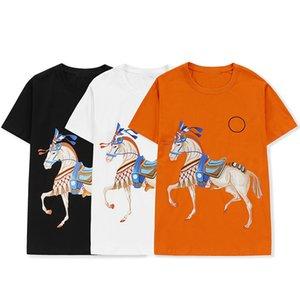 100%cotton womens t-shirt mens t shirts couple casual 6 colors style designer shirt size breathable comfortable M-XXL wholesale war horse
