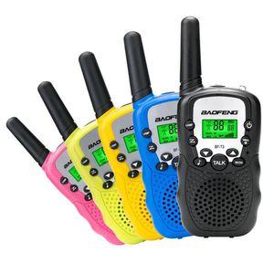 2 pcs baofeng bf-t3 pmr446 walkie talkie melhor presente para crianças rádio portátil t3 mini sem fio dois vias rádio crianças brinquedo woki toki