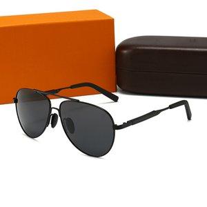20 Cor 2021 Verão Mens Designer Sunglasses Luxo Man L Óculos de Sol Adumbral Goggle UV400 Altamente Qualidade com Box Gafas de Sol 001