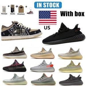 В США Склад SB Dunk Travis Scotts Беговые Обувь Кроссовки Высочайшее Качество Мужчины Женщины Размер 38-45 С Полувальной