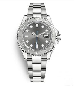 Master montres, hommes, verre saphir, étui en acier inoxydable, mouvement de chaîne automatique mécanique, boucle pliante, 40mm, gros et commerce de détail