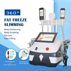 vacuum cryolipolysis slimming machine freezing fat ultrasonic cavitation rf equipment lipo laser beauty body shaping sculpting