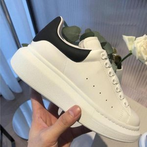 luxury brand Platform Sneakers Mens Luxurys Designers Shoe Womens shoes White Genuine Leather Trainers Comfort Pretty with box size35-46