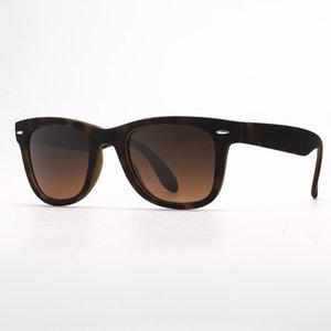 الرجال والنظارات Sunglass UV400 نظارات شمسية مصمم زجاج قابل للطي مع نظارات شمسية قابلة للطي حالة جلدية، عدسات توزيع، حزم! BSIX.