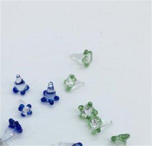 Écrans de verre polychromatique coloré pour tuyau de la main Bol Daisy Flower Quartz Banger Banger Hole Bongs Débuscons Nails Fumeurs Accessoires 267 V2