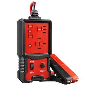 Tester del relè di automobile 12V Tester elettronico del relè automobilistico universale per l'attrezzo diagnostico dell'analizzatore dell'analizzatore di analizzatore automatico della batteria automatica