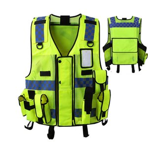 Hi Vis High Visibility Working Clothes Motorcycle Cycling Sports Outdoor Reflective Safety Vest