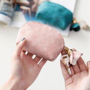2020 кожи PU мини творческий творческий цвет кошелек студент ключ гарнитуры банка карты молния хранения сумка милая монета для женщин1 211 z2