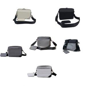 Messenger Çanta Lüks Tasarımcılar Çanta Crossbody Gelişmiş Tuval Çevre Koruma Malzemesi Avrupa ve Amerikan Tarzı Çok Pochette V002