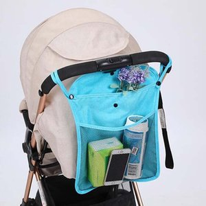 Stroller Parts & Accessories Baby Bag Organizer Universal Useful Accessory Hanging Net Big Bags Portable Umbrella Storage Pocket Cup Holder