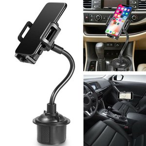 Weathertech Cup Mounts Holder Universal Cell Phone Mount 2-in-1 Car Cradles Adjustable Gooseneck Compatible for Apple iPhone X 8 with box