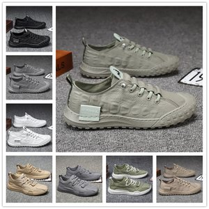 six selling man breathable running shoes mesh sports sneakers adult mans trainers outdoor walking Black White Grey fly