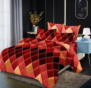 Bedding Sets Line Geometric Elements Rolley Quilt LOVINSUNSHINE King Comforter Set Duvet Queen Bed Cover Geometry