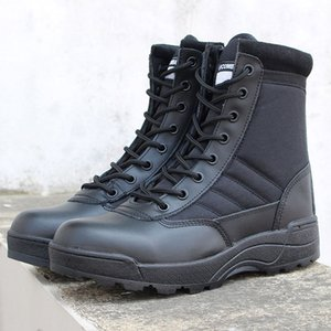 Men Women Desert Boots Sand Black Camping Hunting Hiking Mountaineering Trekking Combat Tactical Army Shoe Work Safty Shoes Non-slip