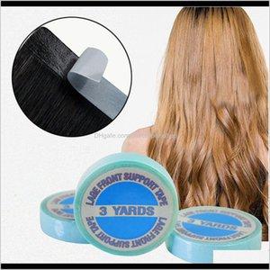 3 pc 1 pc extraordinariamente impermeável fita adesiva do lado dobro para fitas de extensão de cabelo de pele de pele de pêlo de pêlo 300cm alta qualidade JN IS5IL