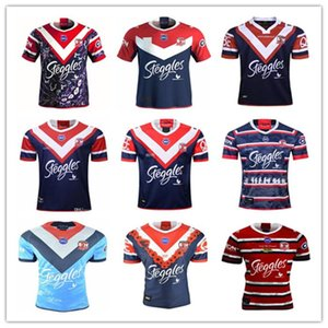 2020 2021 Australia Sydney Rooster Rugby Jersey 19 20 21 Hombres Replica Indígena Indígena Sydney Rooster Rugby Jersey Rugby League Jerseys Camisa