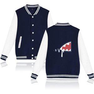 Гололивный английский VTUBER GURA GURA MERCH хип-хоп мужские женщины бейсбол униформа пальто Harajuku стиль бомбардировщик куртка негабаритная уличная мужская джейк