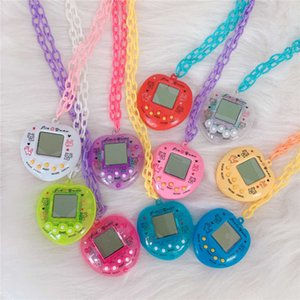 FactoryHCCMWomen Electronic Pet Game Console Pendant For Men Colorful Vintage Funny Toy Choker Necklace Harajuku Trendy J